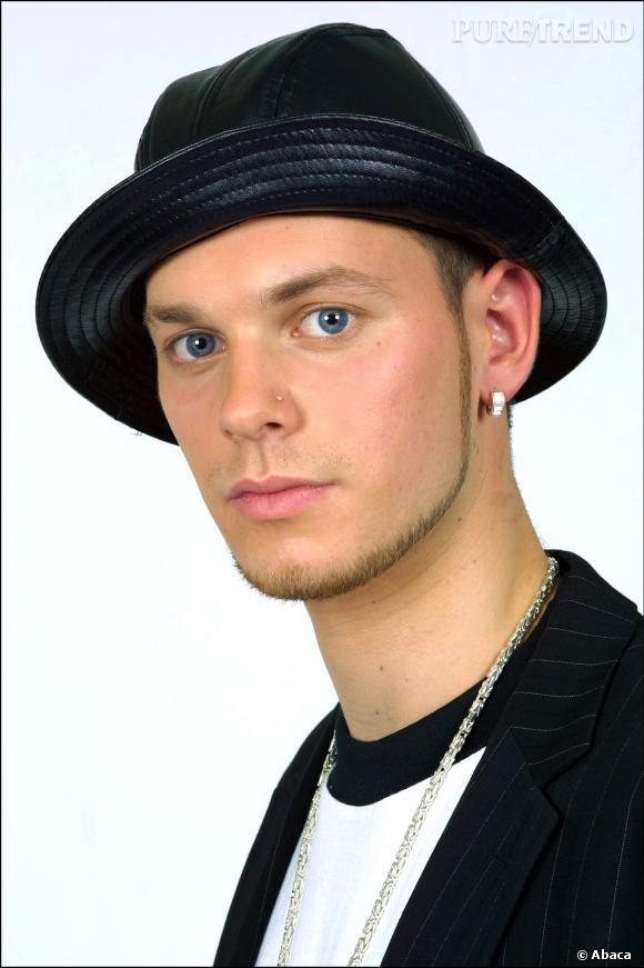 Matt Pokora, en 2003 : chapeau pour se protéger de la pluie ou bad boy en puissance ?