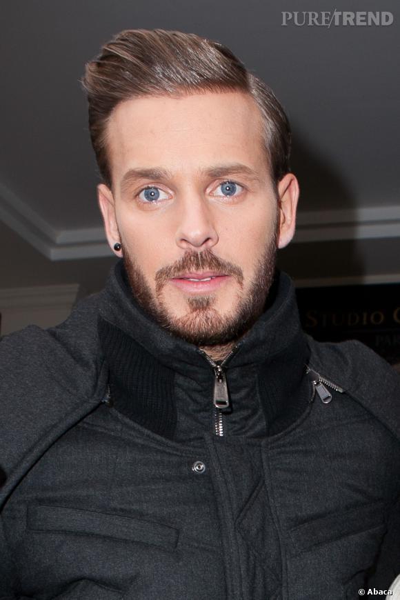 Matt Pokora, coiffure façon David Beckham très tendance, en 2013.