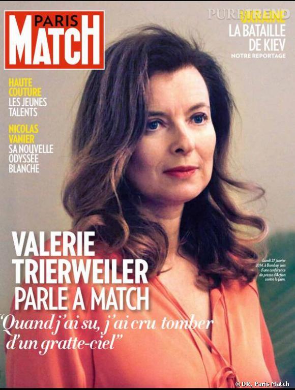 Valérie Trierweiler, ses confidences.