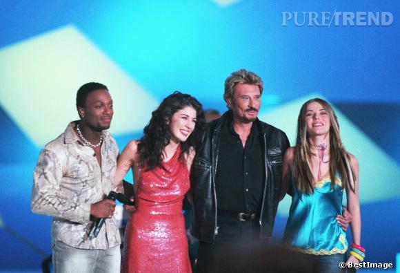 """Emma Daumas, candidate de la saison 2 de """"Star Academy"""" en 2002. Une émission qui lui a permis de chanter avec les plus grands."""