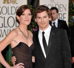 Jennifer Carpenter et Michael C. Hall aux Golden Globes.
