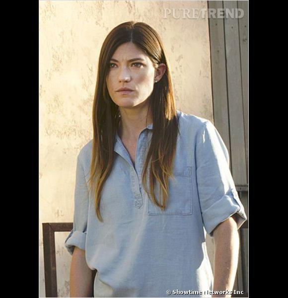 """Jennifer Carpenter, du détective dans """"Dexter"""" elle passe à agent du FBI pour """"Sea of Fire""""."""