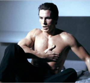 Christian Bale, sexy au réveil.