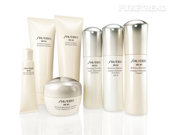 La ligne de soins Ibuki de Shiseido, au parfum floral boisé délicat relaxant