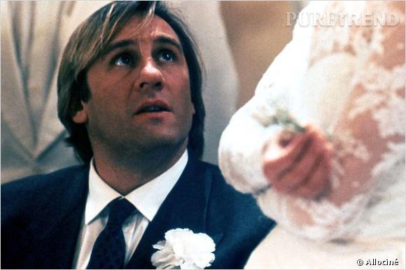 """Gérard Depardieu dans le film """"Trop belle pour toi"""" en 1989."""