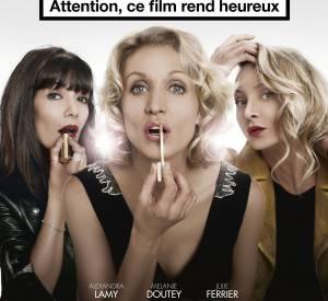 """On a récemment vu Alexandra Lamy au cinéma dans """"Jamais le premier soir"""" avec Mélanie Doutey et Julie Ferrier."""