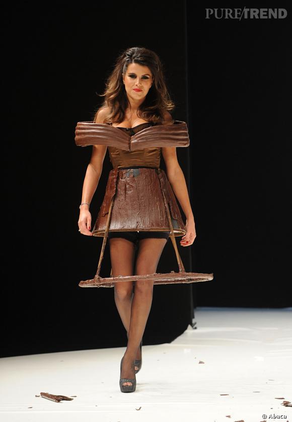 Karine Ferri est une Babydoll chocolatée en 2011.