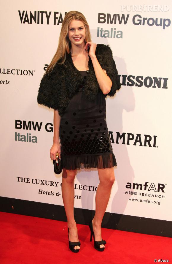 Vanessa Hessler, l'art de porter la petite robe noire.