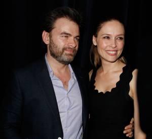 Clovis Cornillac et sa femme Lilou, complices à la première de Jupe Obligatoire