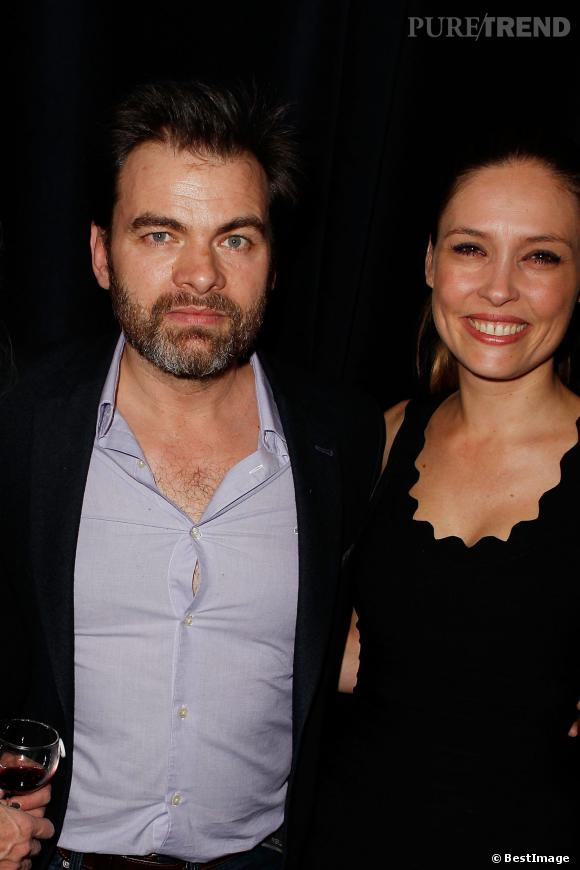 Clovis Cornillac et sa femme, Lilou Fogli, ensemble depuis 2009.