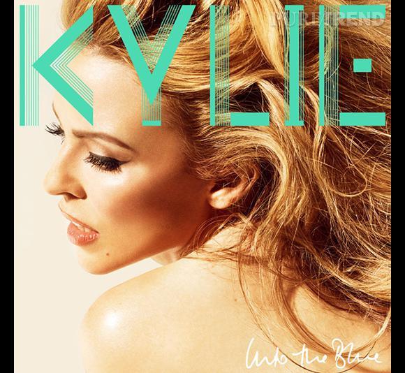 """Pochette du dernier album de Kylie Minogue """"Into the Blue"""" version Moyen-Orient."""