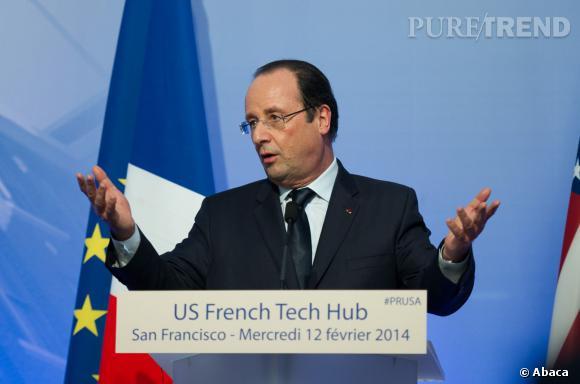 """Selon George Clooney, François Hollande aurait un accent """"très séduisant""""."""