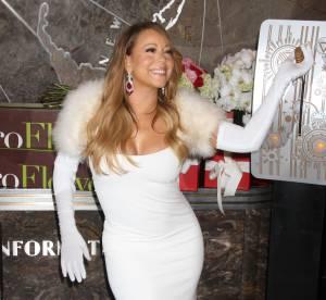 Mariah Carey : attitude glam diva pour la Saint-Valentin