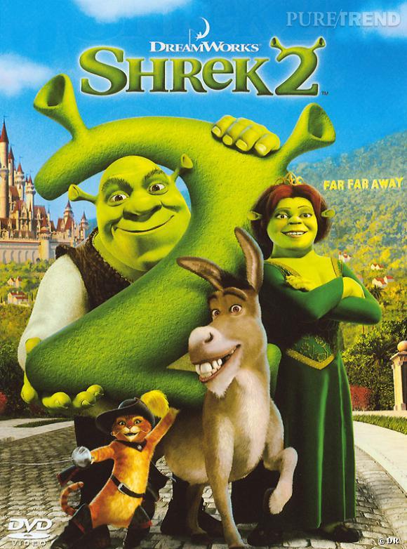 """Les meilleures et étonnantes suites de films : """"Shrek 2""""."""