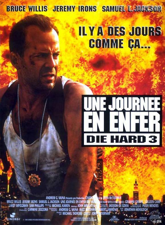 """Les meilleures et étonnantes suites de films : """"Die Hard 3""""."""