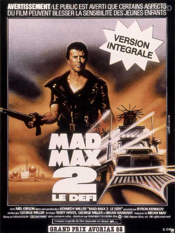 """Les meilleures et étonnantes suites de films : """"Mad Max 2""""."""