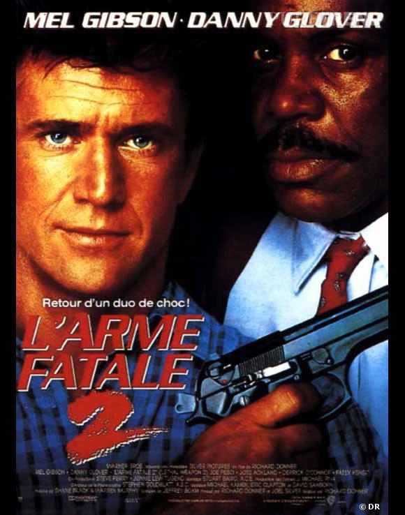 """Les meilleures et étonnantes suites de films : """"L'arme fatale 2""""."""
