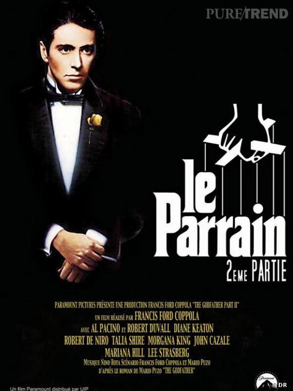 """Les meilleures et étonnantes suites de films : """"Le Parrain 2""""."""