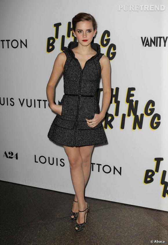 """Emma Watson est tombée malade pendant le tournage de """"Noé""""."""