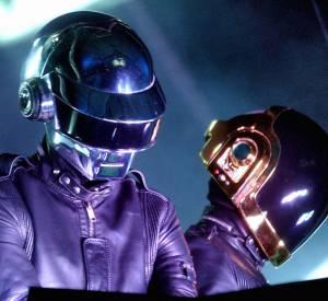 Les Daft Punk, le duo casqué de la French Touch.