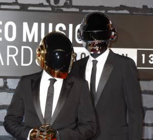 Les Daft Punk aux MTV Video Music Awards en août 2013.