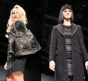 Rita Ora et Katy Perry mannequins surprise du défilé Moschino à Milan