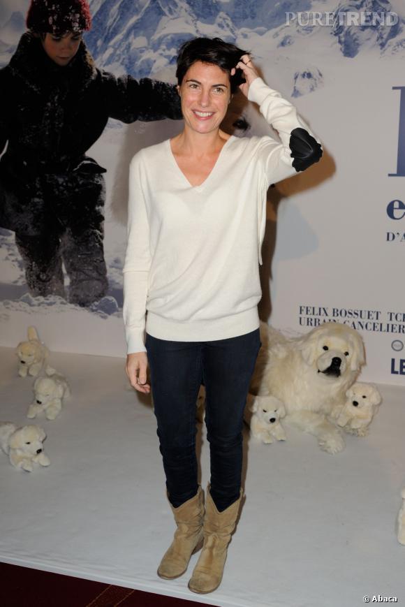 Alessandra Sublet serait enceinte de son 2ème enfant si on en croit les photos de Voici !