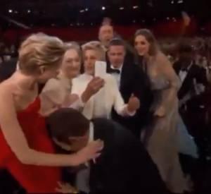 Ellen Degeneres et le selfie le plus cool du monde.