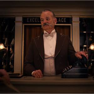 "Bill Murray dans ""Grand Budapest Hotel"" de Wes Anderson."