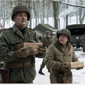 "Bill Murray et Bob Balaban, le duo très spécial de ""Monuments Men""."