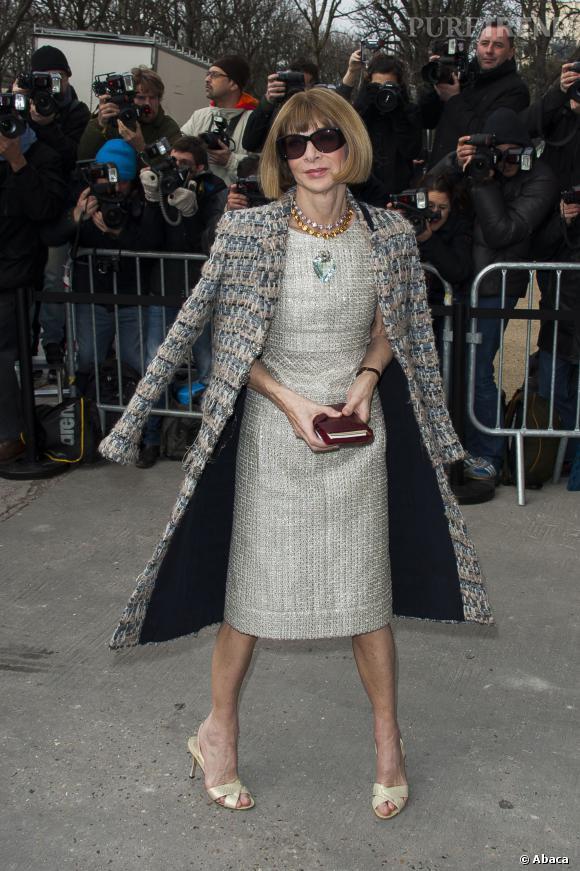 Anna Wintour, papesse de la mode, n'a pas été en front row chez Valentino.