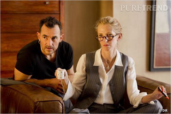 """Sandrine Kiberlain dans le film """"9 mois ferme"""" d'Albert Dupontel."""
