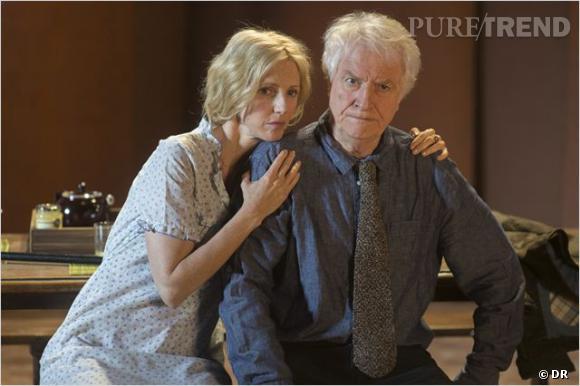 "Sandrine Kiberlain dans le film ""Aimer, boire et chanter"" d'Alain Resnais."
