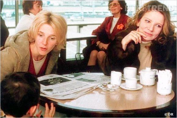 """Sandrine Kiberlain dans le film """"Betty Fisher et autres histoires"""" de Claude Miller."""