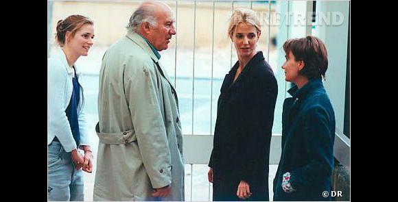 "Sandrine Kiberlain dans le film ""Tout va bien on s'en va"" deClaude Mouriéras."
