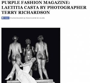 Laetitia Casta : ses photos érotiques par Terry Richardson, censurées !