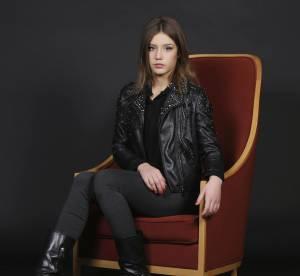 Adèle Exarchopoulos, véritable bombe en cuir... un look à copier !