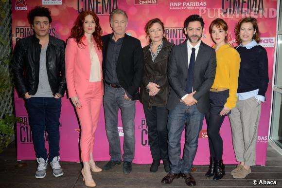 Jolie brochette d'acteurs pour célébrer Le Printemps du Cinéma 2014.