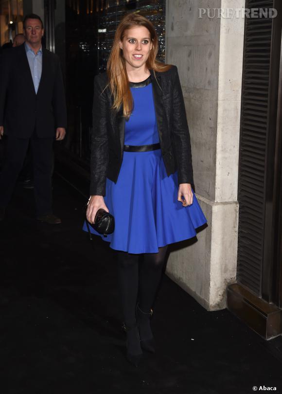 Princesse Beatrice d'York à l'ouverture d'une boutique Karl Lagerfeld sur Regent Street à Londres le 13 mars 2014.