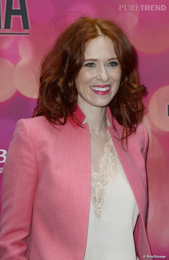 Audrey Fleurot au lancement du printemps du cinéma, le 11 mars 2014.