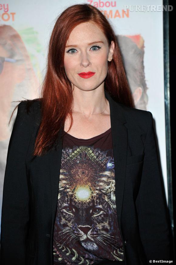 Audrey Fleurot à l'avant-premiere du film Belle comme la femme d'un autre au cinema UGC Bercy a Paris, le 20 janvier 2014.