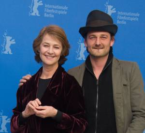 Charlotte Rampling et son fils Barnaby Southcombe qu'elle a eu avec Bryan Southcombe.