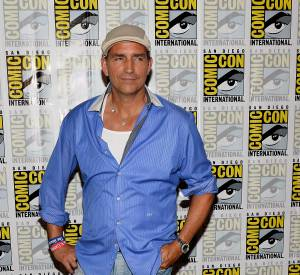 Jim Caviezel version maffieux à la retraite lors du Comicon 2013.