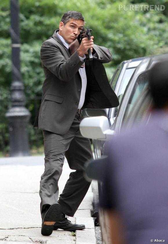 Jim Caviezel alias John Reese, le nouveau héros sexy du petit écran.