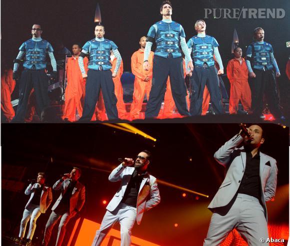 Entre le concert des Backstreet Boys de 2000 et celui du Zénith de Paris, mardi 18 mars, il y a eu une belle évolution !