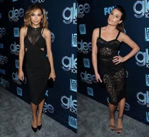 Lea Michele VS Naya Rivera : la robe transparente des stars de Glee
