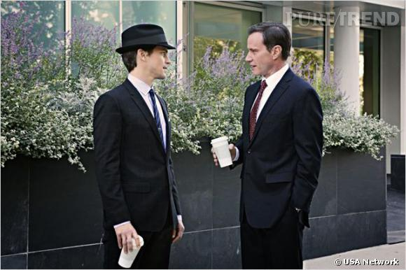 """Matt Bomer et Tim DeKay dans la série """"FBI : Duo très spécial""""."""