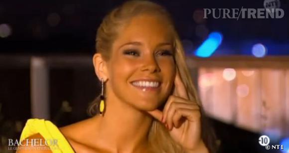 Louise du Bachelor, dans l'émission du lundi 24 mars 2014 sur NT1.