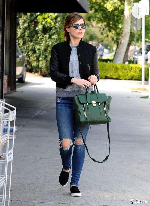 Sophia Bush se rend à un déjeuner dans West Hollywood.