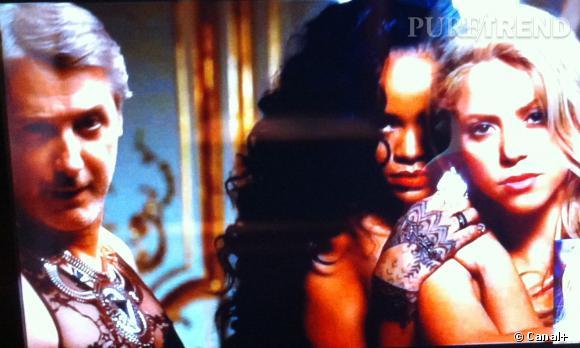 """Antoine de Caunes, aussi sexy que Rihanna dans le clip """"Can't Remember to Forget You"""" de Shakira !"""